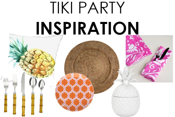 Tiki Party Inspiration Board