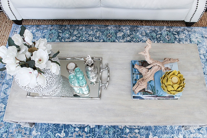 Living Room A Blissful Nest