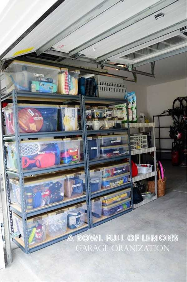 20 Tips to Organize the Garage