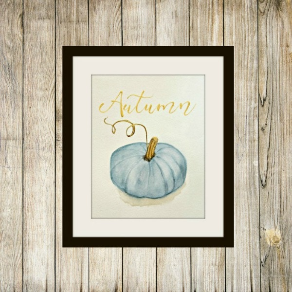 The Red Painted Cottage Blue Pumpkin, 30 Free Fall Printables