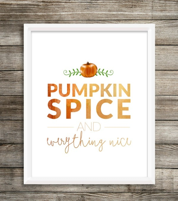 Pumpkin Spice Yellow Bliss Road, 30 Free Fall Printables