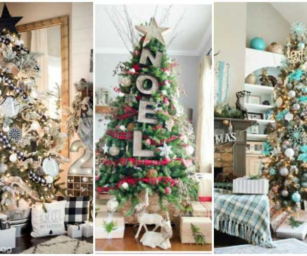 20 Amazing Christmas Tree Decorating Ideas