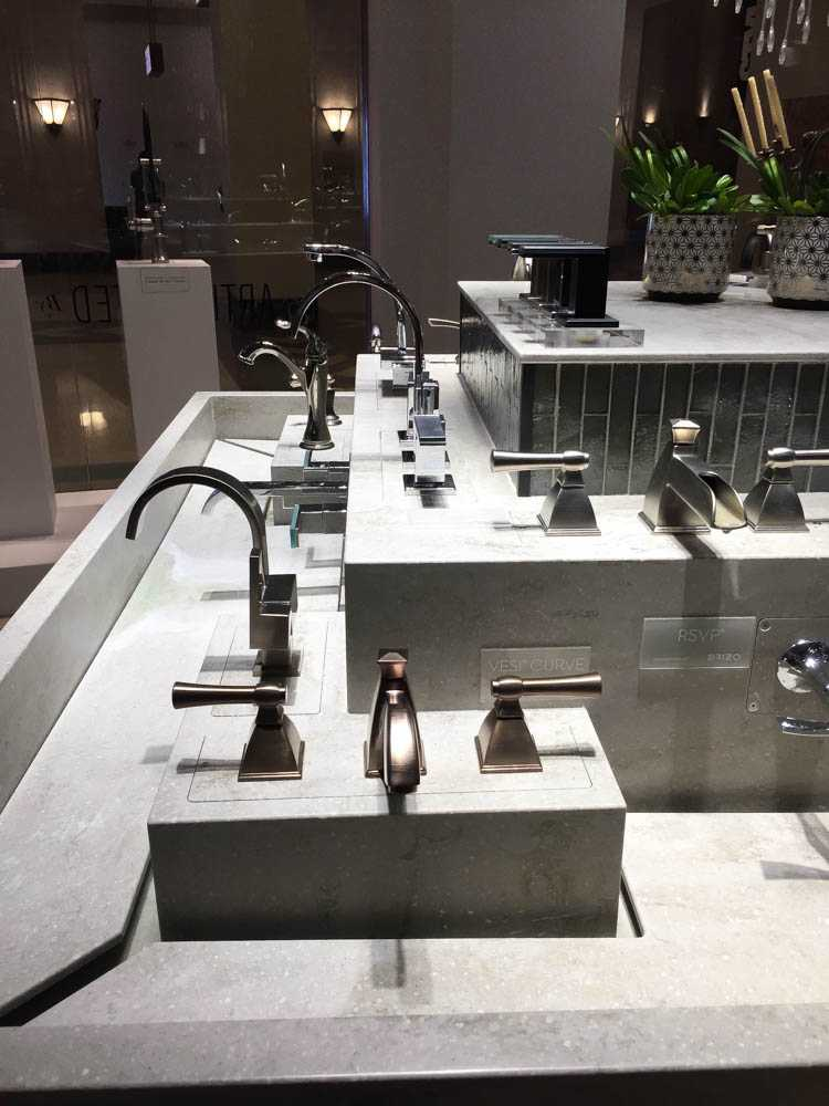 These are amazing ideas by Delta Faucet to get inspired for a upcoming remodeling project! See more on https://ablissfulnest.com/ #deltafaucet #deltaliving #ad