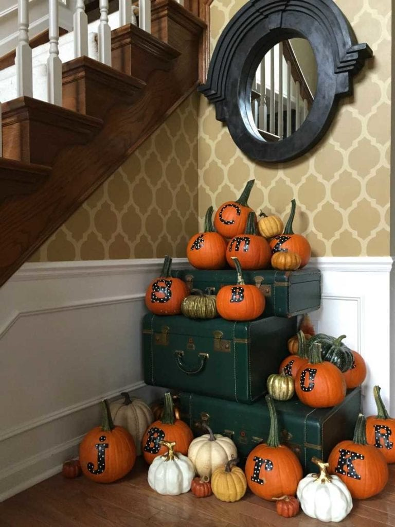 Personalized Thanksgiving Pumpkins A Blissful Nest