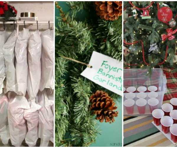 15 Ways to Store Christmas Decor