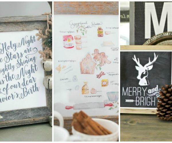 30 Free Christmas Printables You'll Love