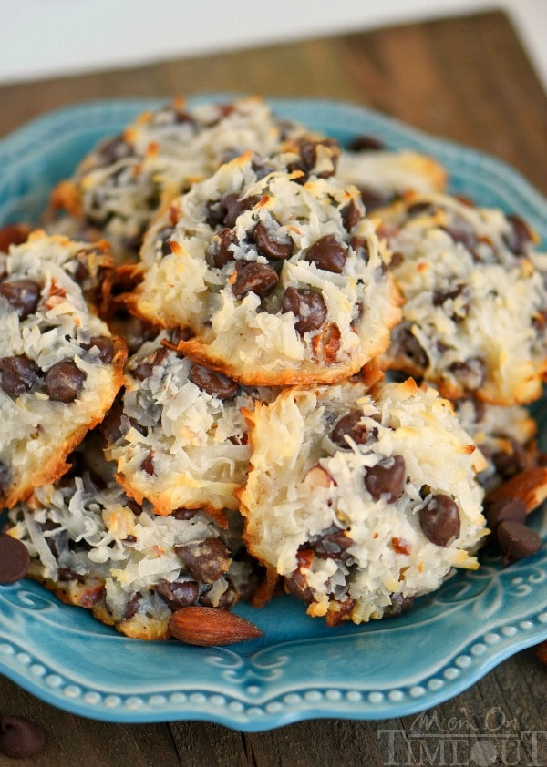Almond Joy Cookies, 30 Delicious Christmas Cookie Recipes via A Blissful Nest