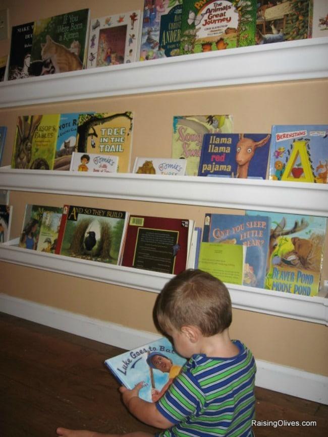 Raising Olives, Playroom Organization Ideas via A Blissful Nest