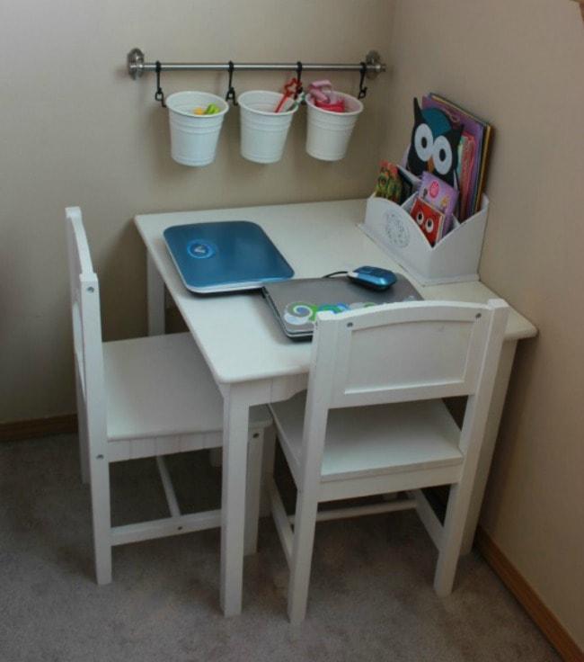 Thrifty Northwestern Mom, Playroom Organization Ideas via A Blissful Nest