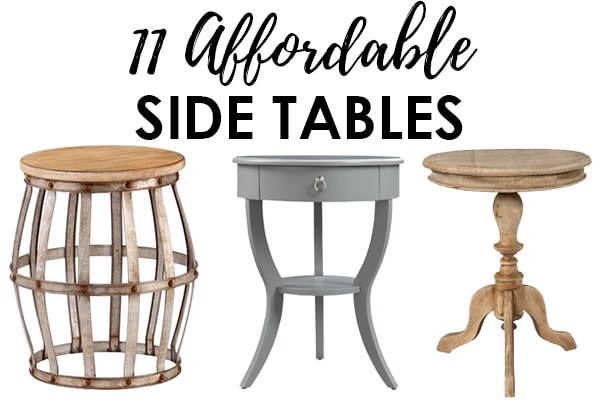 11 Affordable Side Tables
