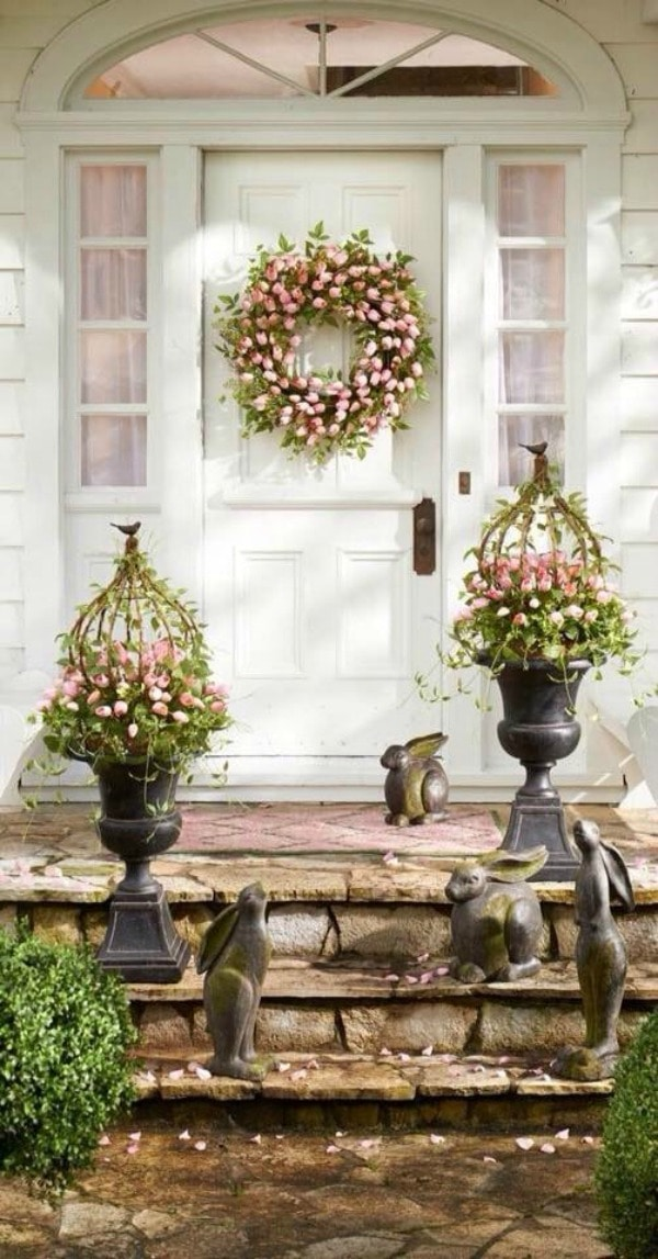 Spring Front Porches Refreshed And Perfect For Spring