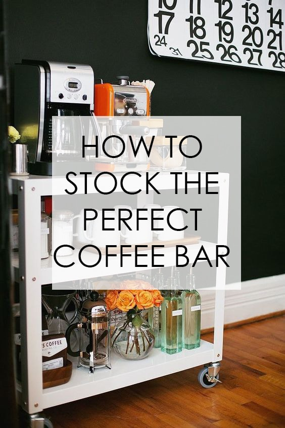 Coffee Cabinet Organization Tips Free Printables