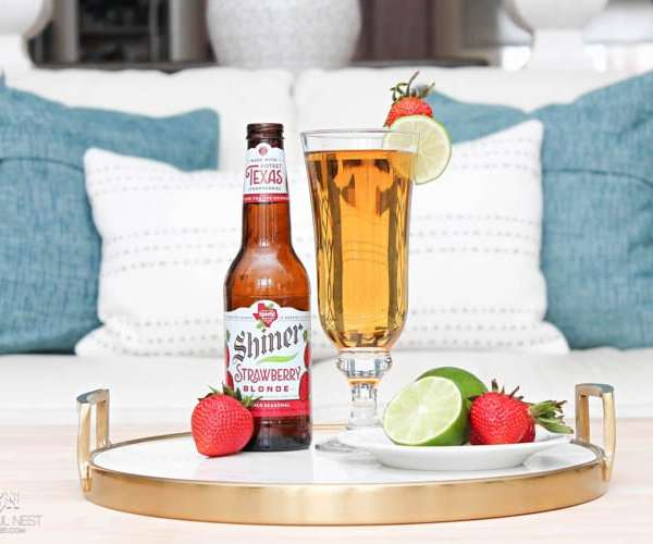 Strawberry Lime Beer Cocktail Recipe