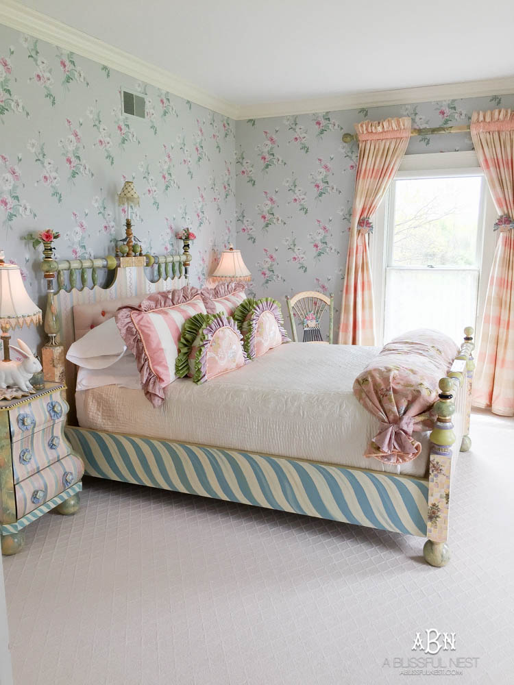 See behind the scenes with MacKenzie-Childs and how this iconic brand has taken over the country in home decor! See more on https://ablissfulnest.com/ #campcourtlycheck #mackenziechilds #ad