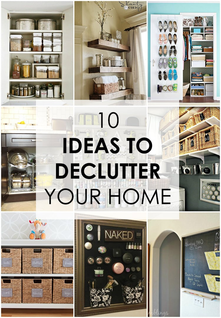 10 Ideas To Declutter Your Home Easy Guide To Follow