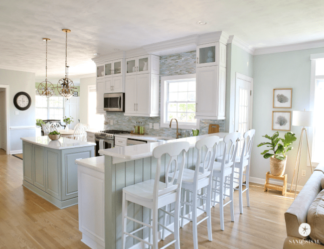 15 Gorgeous Blue Kitchen Ideas - Blue Kitchen Cabinet Ideas