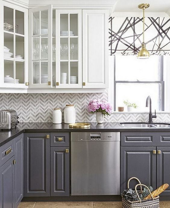 These are the best kitchen cabinet colors to choose from! Love all the variations to make a unique look to your kitchen.
