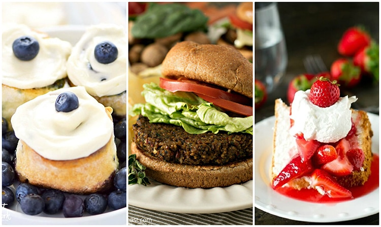 So many yummy and easy gluten free recipes in this post! #glutenfree #gfrecipes #glutenfreerecipe