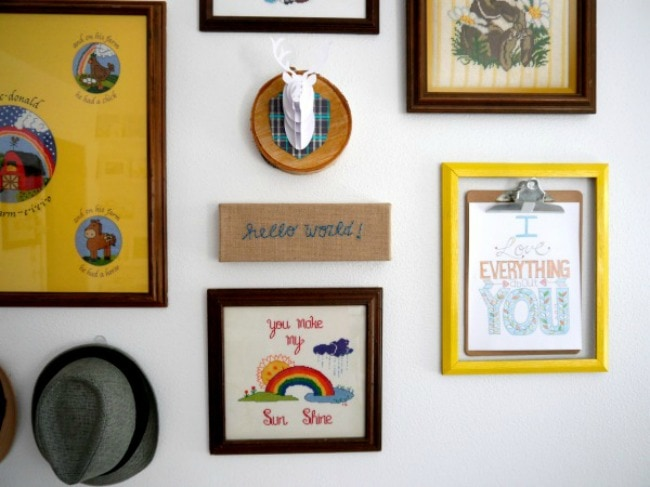 Dreaming of a gallery wall of your own? Use Command products for the perfect look. CRAFT, 15 Things to do with Command Hooks in your Home