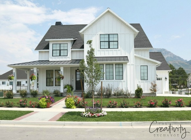 Perfect Go For A Classic White On The Exterior Of Your Home! It Is A Beautiful