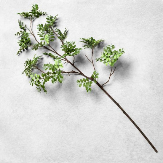 This gorgeous faux greenery stem is under $10 and perfect for fall decorating!