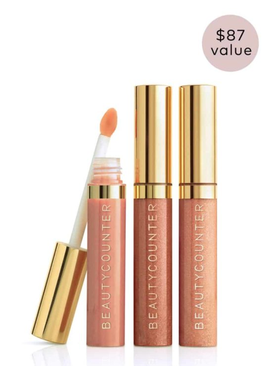 These are the perfect nude shades and the most amazing toxin free makeup!