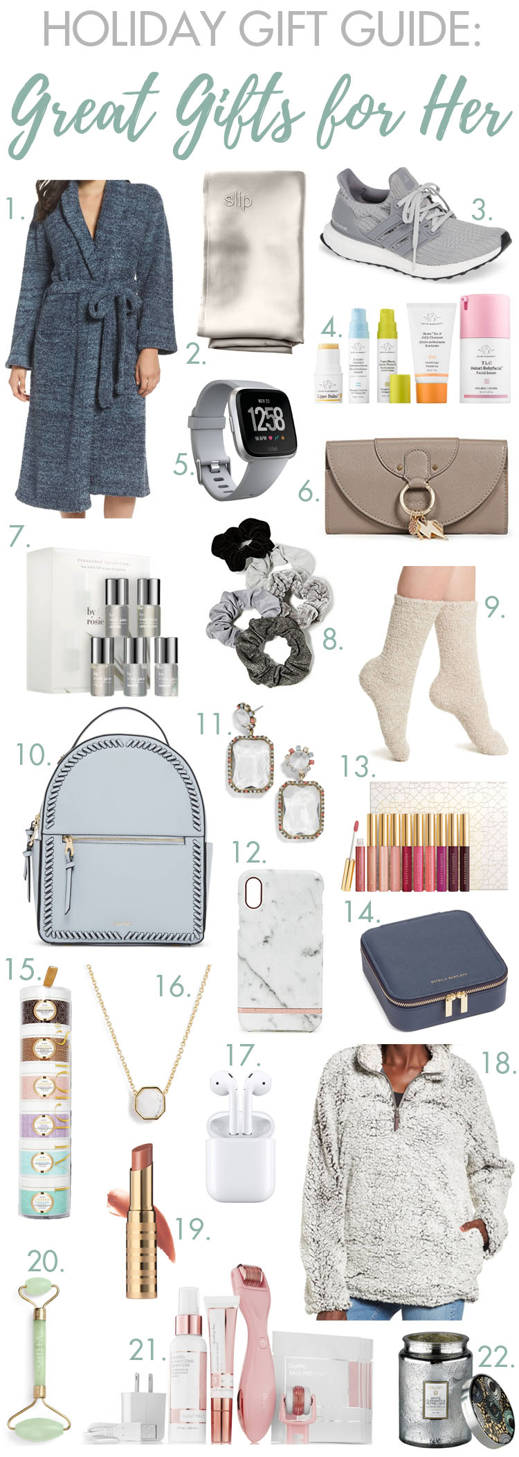 From $15 to $250, we have rounded up the best holiday gift ideas for women! #giftguide