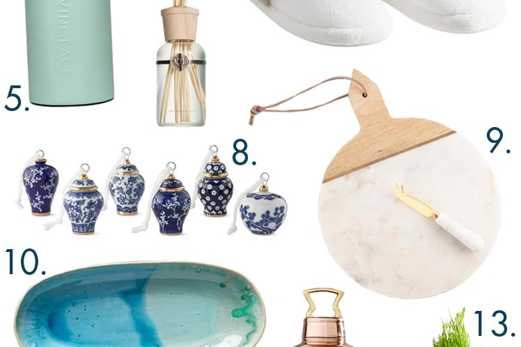 The BEST holiday gift guide ideas for hostess gifts. Shop for all price points and grab stylish decor for your friends.