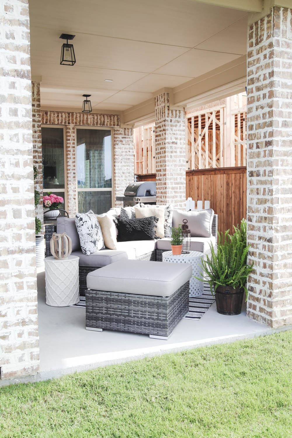 Refresh your outdoor space and update your patio for spring with these tips + a guide! #ad #AtHomeStores