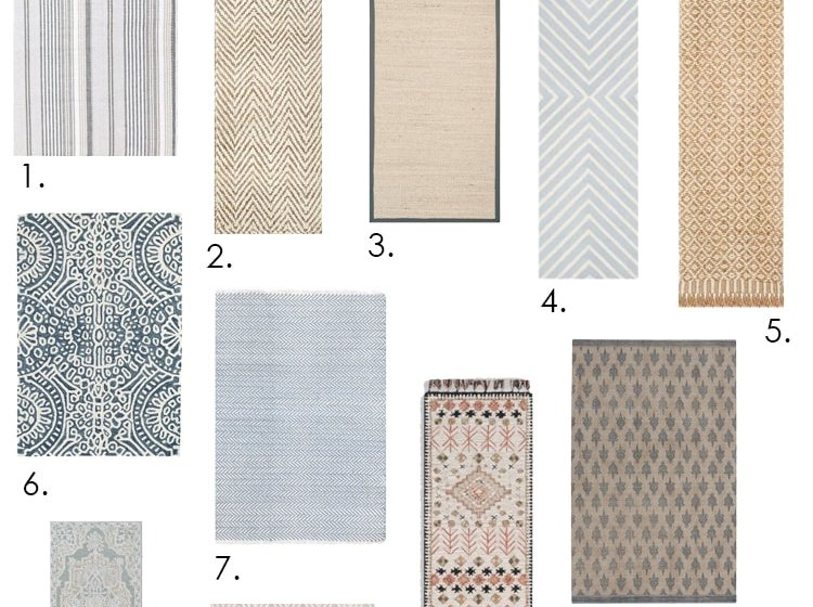 Looking for the perfect kitchen runner? We've got 10 of the best kitchen runners out there! #ABlissfulNest #kitchenideas #kitchens