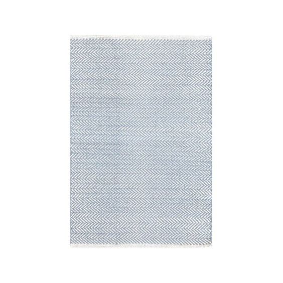 Herringbone Woven Swedish Area Rug