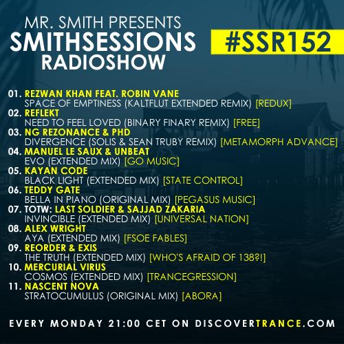smithsessions radioshow 152