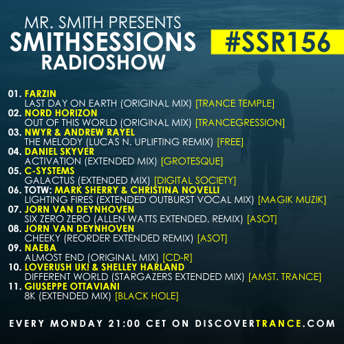 smithsessions radioshow 156