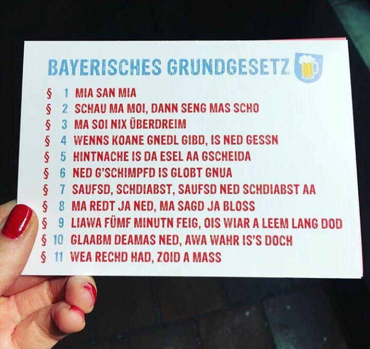 Bayerischer Humor Bayerischer Humor