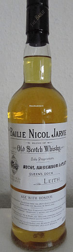 The Bailie Nicol Jarvie Flasche
