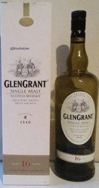 Glen Grant 16 Flasche