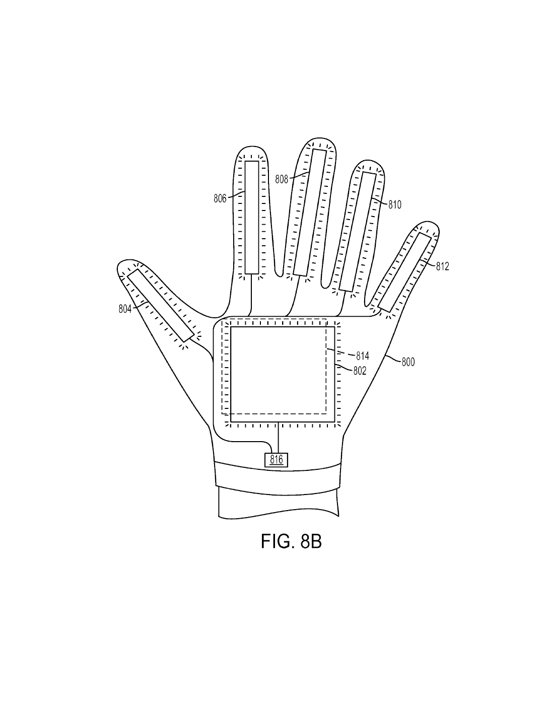 Sony Files Three Patents For Glove Controller For Use With Playstation Vr