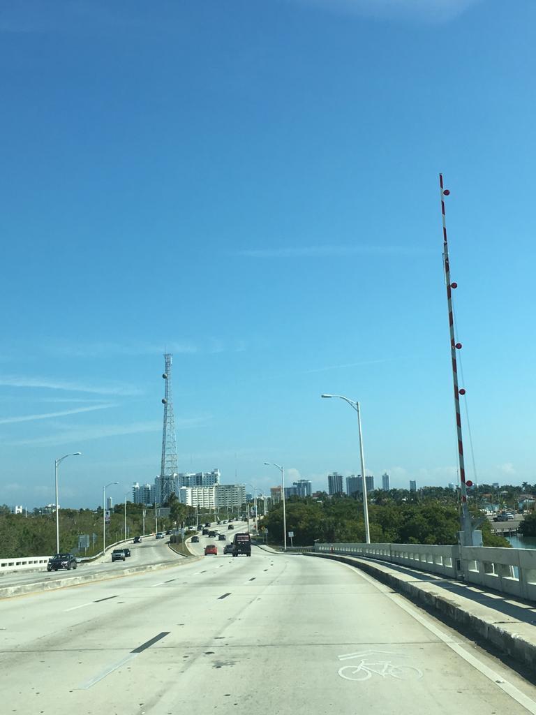 Richtung Miami Beach