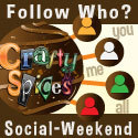 Teilnahmebutton vom Fotoprojekt Social Weekend von Crafty Spices