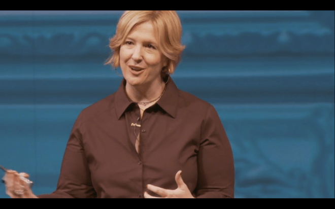 brene brown talking
