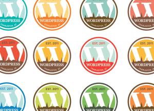 wordpress charleston logo colors