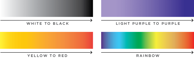 graphic design gradients