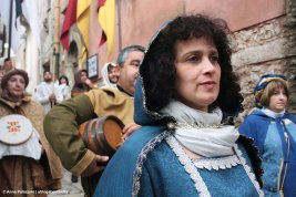 Medieval parade in Erice