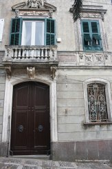 Old noble building in Erice