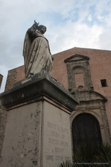 Statue of Sant'Alberto in Erice