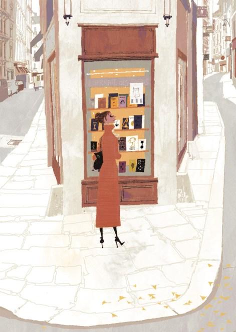 Palermo old town. Illustration by Tadahiro Uesugi.