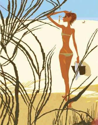 Wake me up when september in Sicily ends...Illustration by Tadahiro Uesugi.