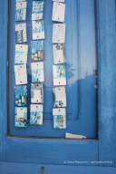 Phone cards curtain in San Vito Lo Capo - Sicily