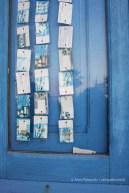 Phone cards curtain in San Vito Lo Capo - Sicily