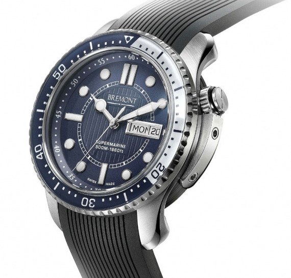 Bremont Supermarine 500 Watch First Diver For Young Brand ABlogtoWatch